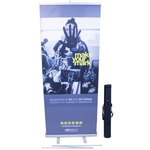 same day rush banner stand